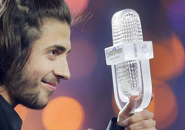 Salvador Sobral, ganador del concurso Eurovisión 2017
