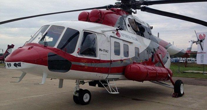 El helicóptero Mi-171A2