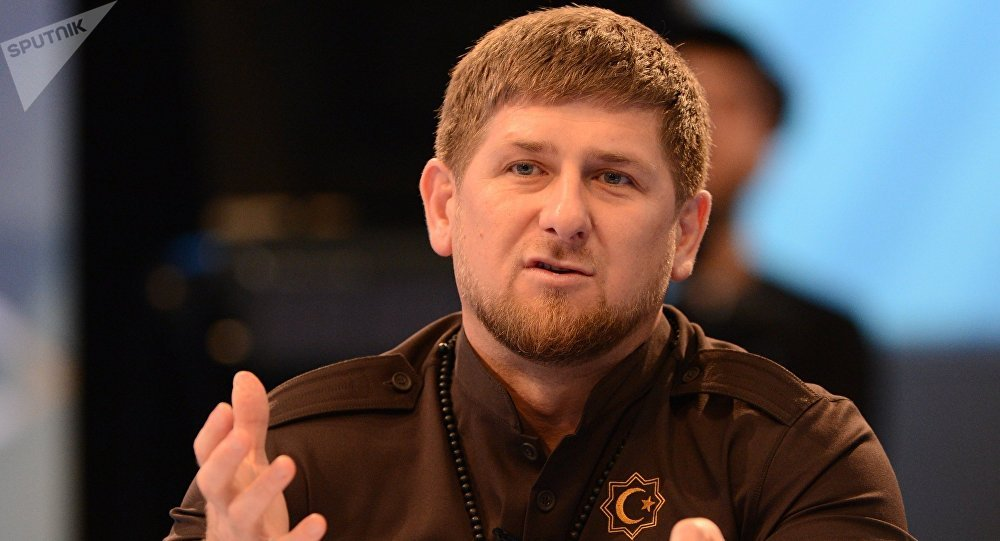 Ramzán Kadírov, jefe encargado de Chechenia (archivo)