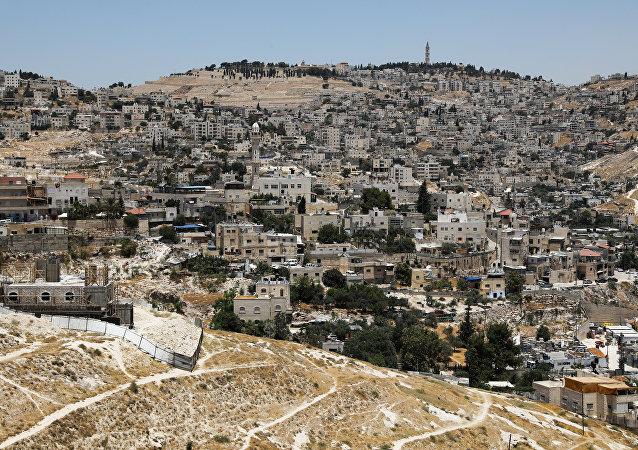 Jerusalén Este, territotio disputado por Israel y Palestina