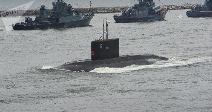 Submarino de la Flota del Báltico