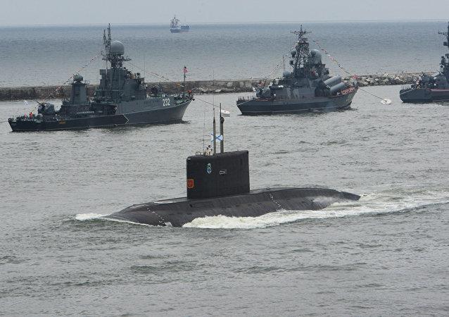 Submarino de la Flota del Báltico (imagen referencial)