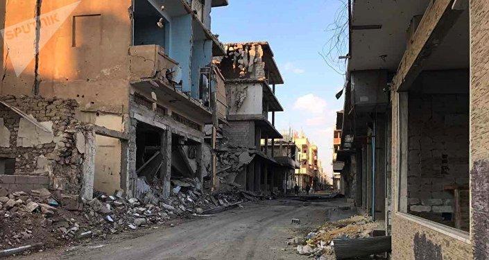 Vídeo: situación en las zonas de seguridad en Siria