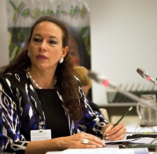 María Fernanda Espinosa, presidenta del 73º período de sesiones de la Asamblea General de la ONU