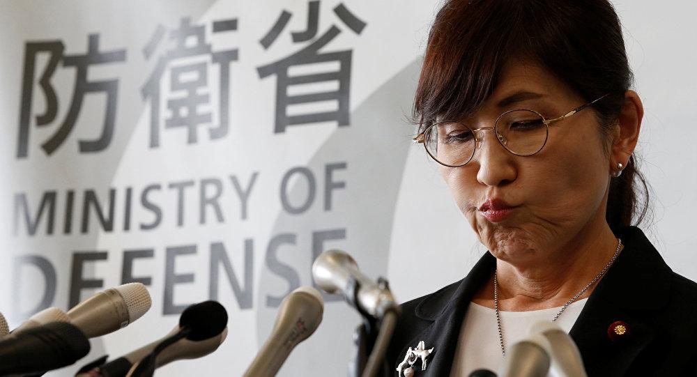 Ministra de Defensa de Japón renunciará a su cargo este viernes