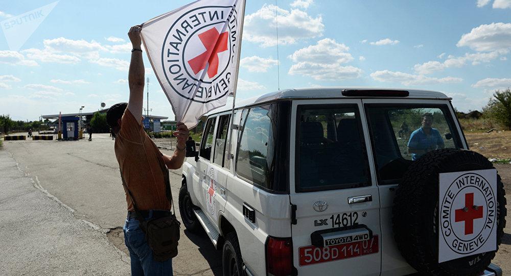 La Cruz Roja en Ucrania (archivo)