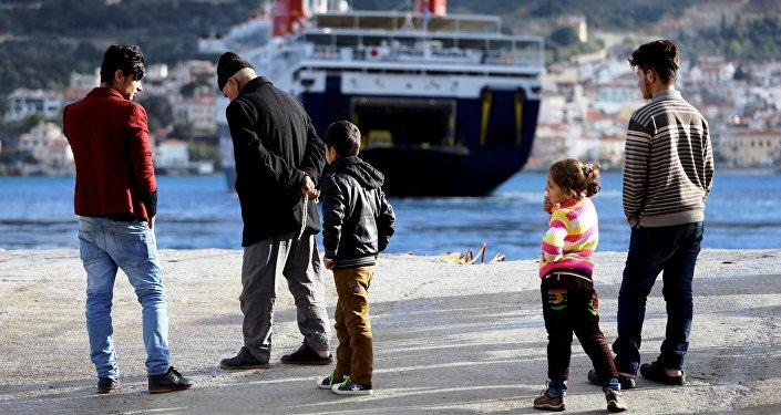Inmigrantes en las costas del mar Mediterráneo