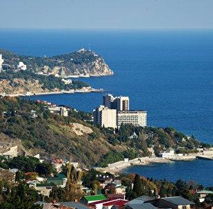 La ciudad de Yalta en Crimea, Rusia (archivo)