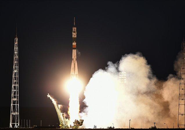 La tripulación del cohete portador Soyuz MC-05
