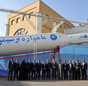 Lanzador espacial Simorgh, Irán (archivo)
