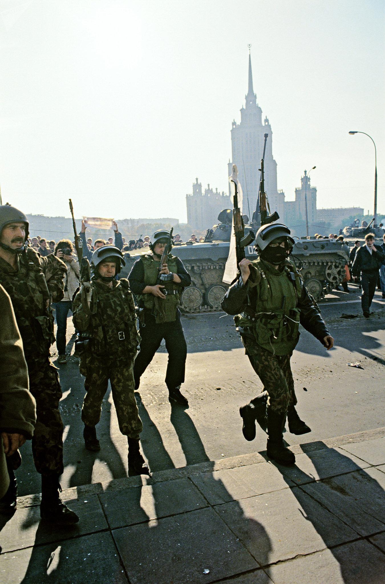 Soldados del Grupo Alfa (Archivo)