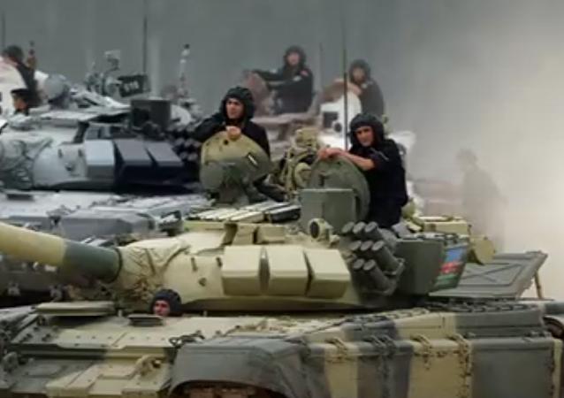 El Biatlón de Tanques de los Juegos Militares Internacionales 2017