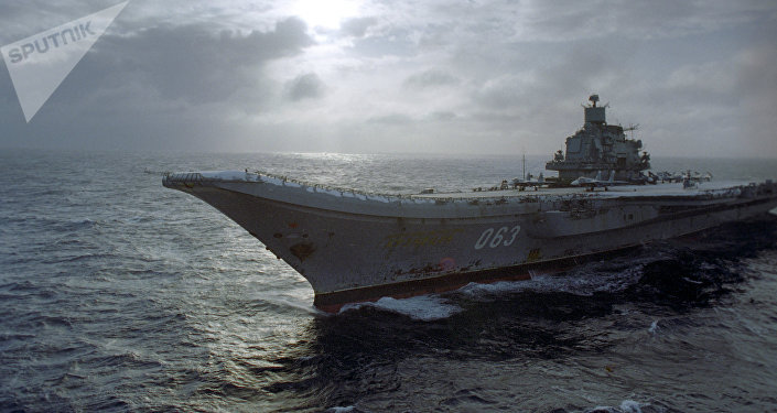 Portaaviones Almirante de la Flota de la Unión Soviética Kuznetsov