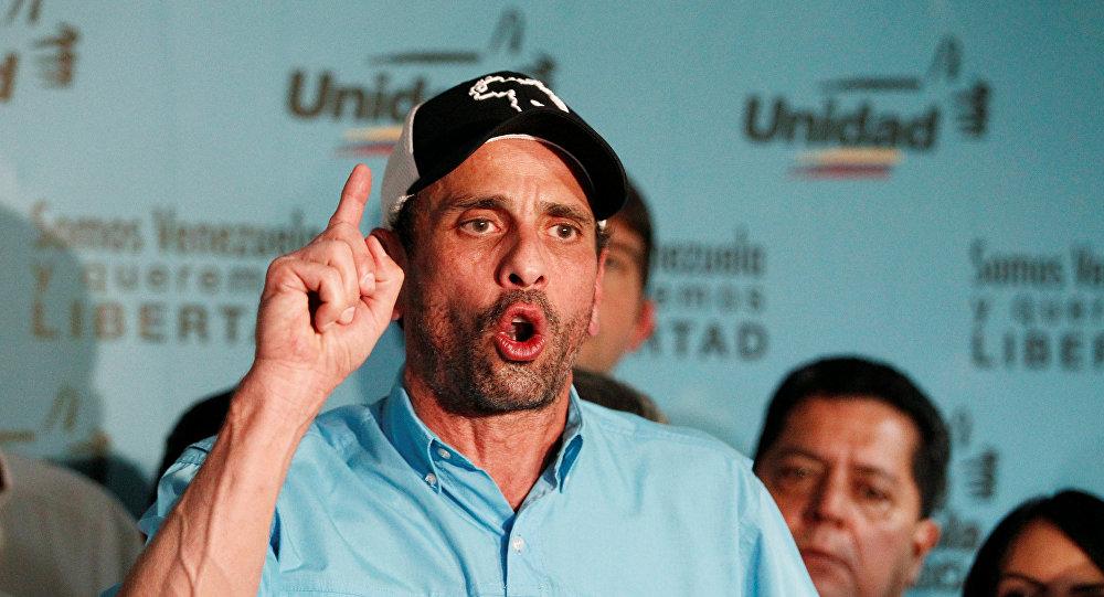 Henrique Capriles, opositor venezolano