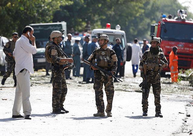 Fuerzas de seguridad de Afganistán (archivo)