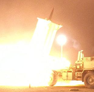 Prueba del sistema antimisiles estadounidense THAAD