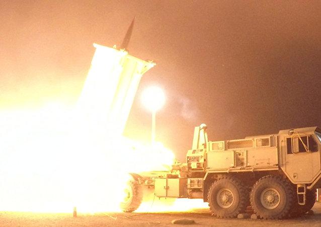 Prueba del sistema antimisiles estadounidense THAAD (archivo)