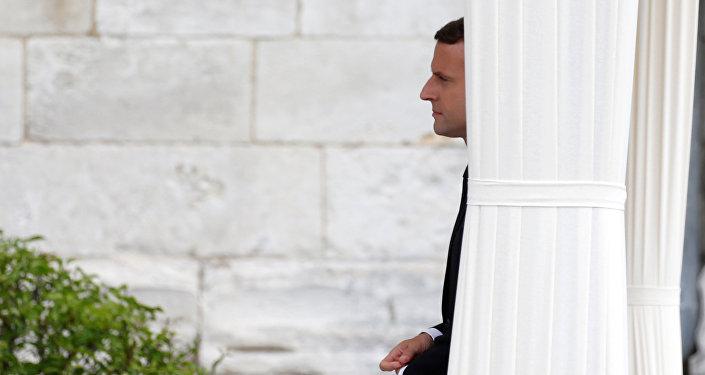 Emmanuel Macron, presidente de Francia (archivo)