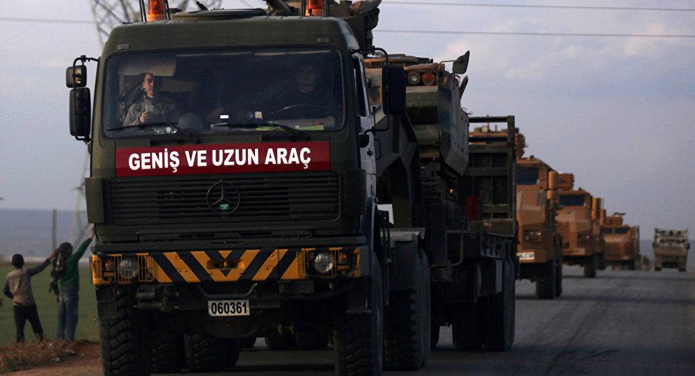 Las tropas turcas en Siria (archivo)