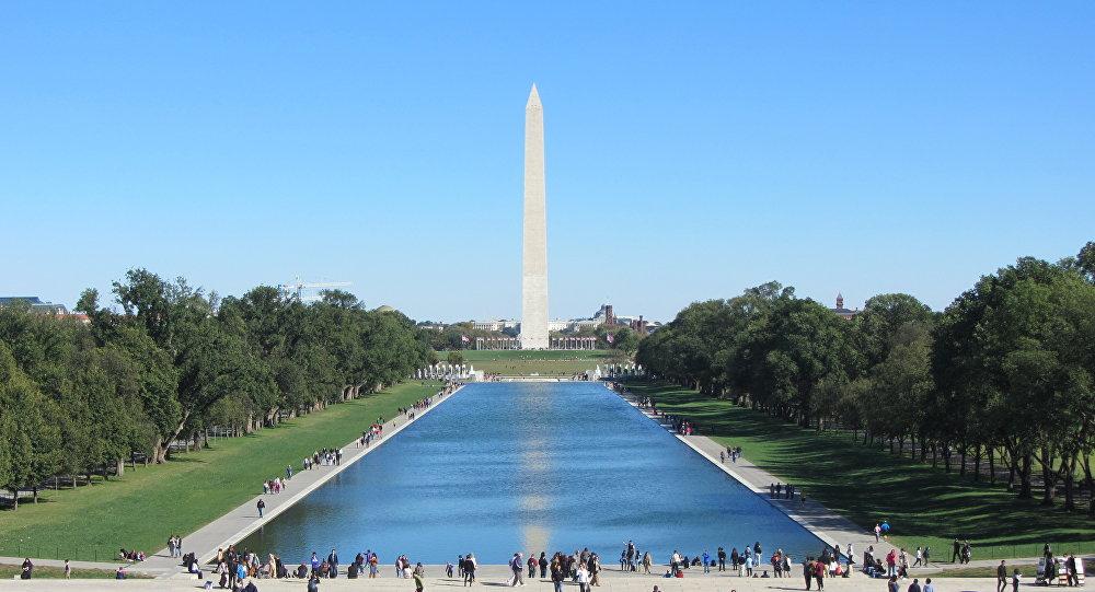 El National Mall (Explanada Nacional) en Washington, capital de EEUU