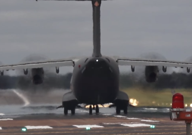 Airbus A400M Atlas, aeronave militar de transporte