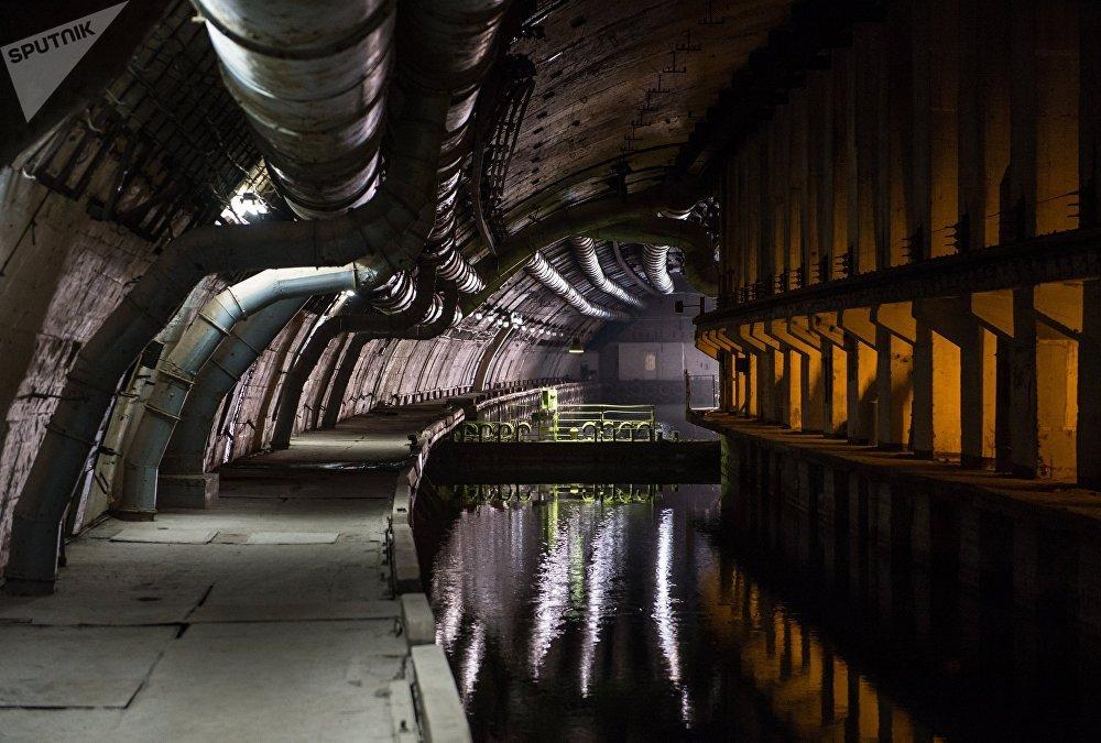 La base submarina subterránea de Balaklava