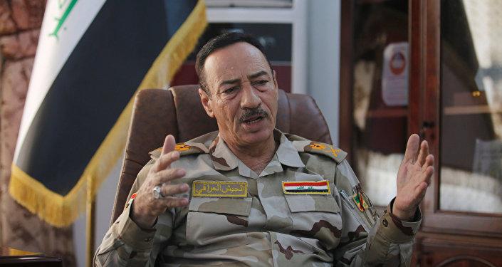 Najm Jabouri, mayor general de las Fuerzas Armadas de Irak