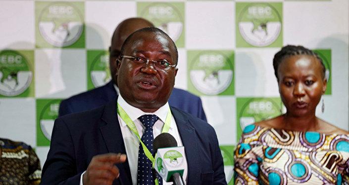 Chris Msando, el director de Tecnologías de la Información y la Comunicación de la Comisión Electoral Independiente de Kenia