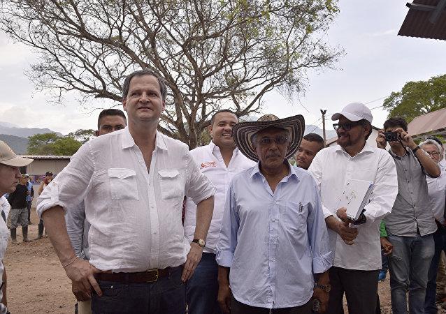 Sergio Jaramillo, alto comisionado para la Paz del Gobierno de Colombia (archivo)