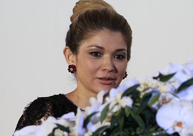 Gulnara Karímova, la hija mayor del fallecido presidente Islam Karímov