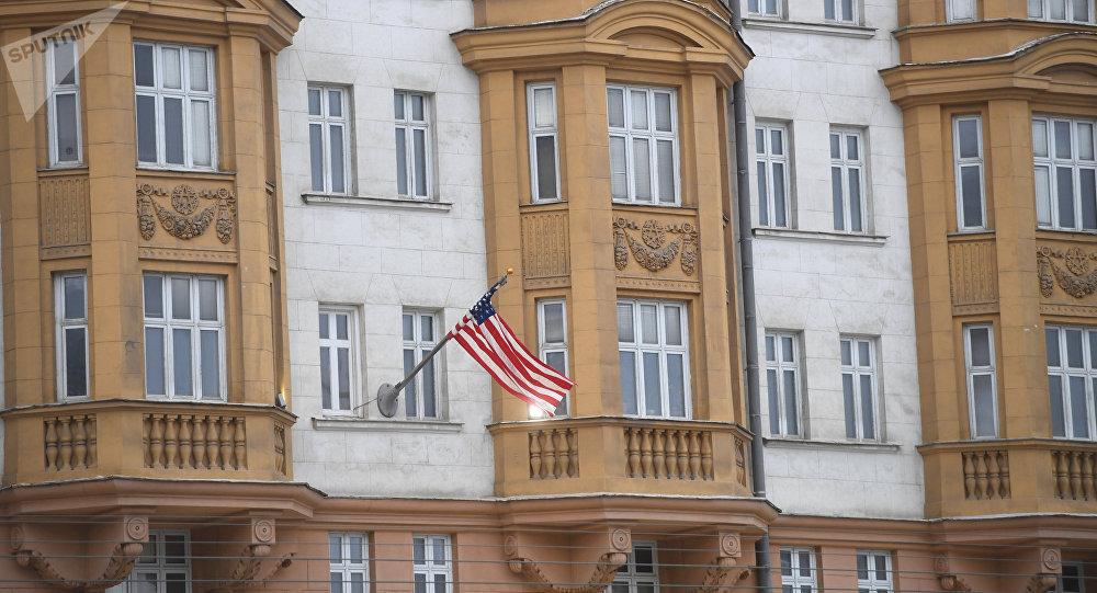 La embajada de EEUU en Moscú (archivo)