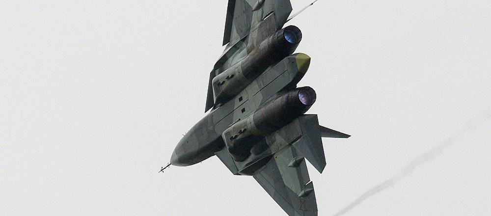 El caza ruso Su-57