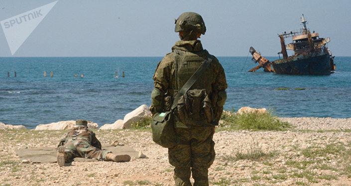 Ejercicios conjuntos ruso-sirios en Tartus