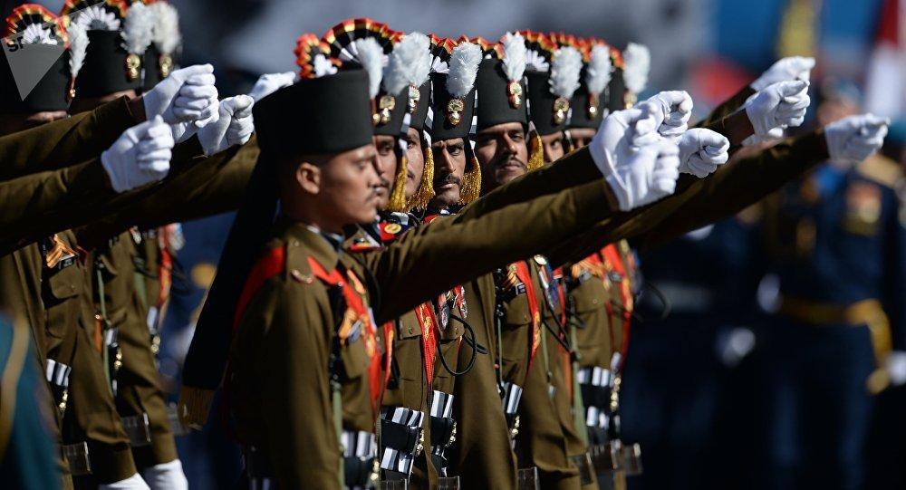 Militares de la India (archivo)