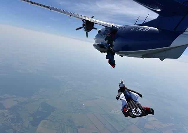 Bellas y valientes: paracaidistas rusas baten un récord