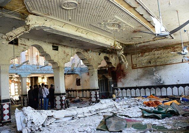 Ataque en la mezquita chií en la ciudad de Herat, Afganistán