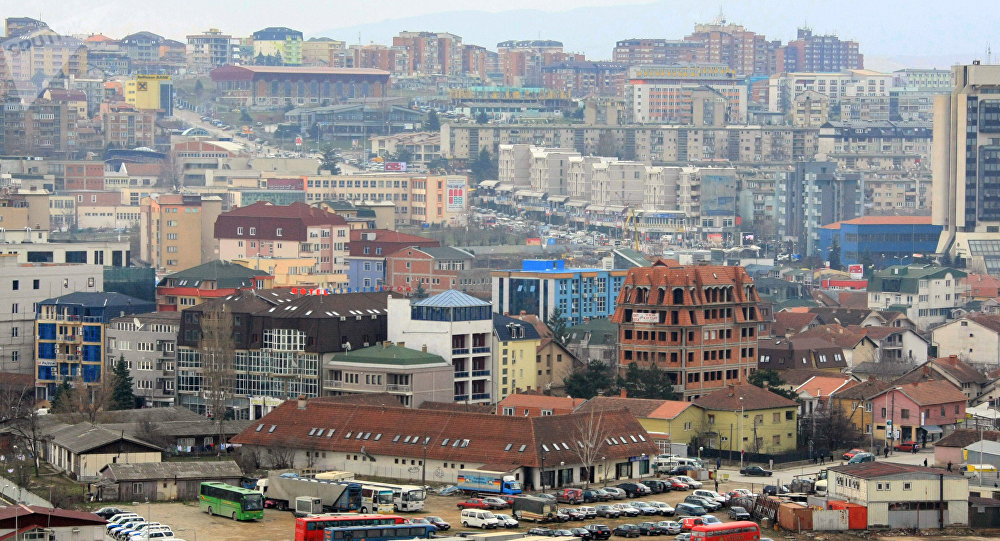 Pristina, capital de Kosovo