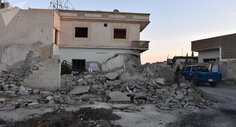 Situación en  Guta Oriental siria