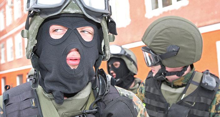 Fuerzas antiterroristas rusas (archivo)