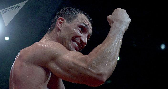 Vladímir Klichkó, boxeador ucraniano