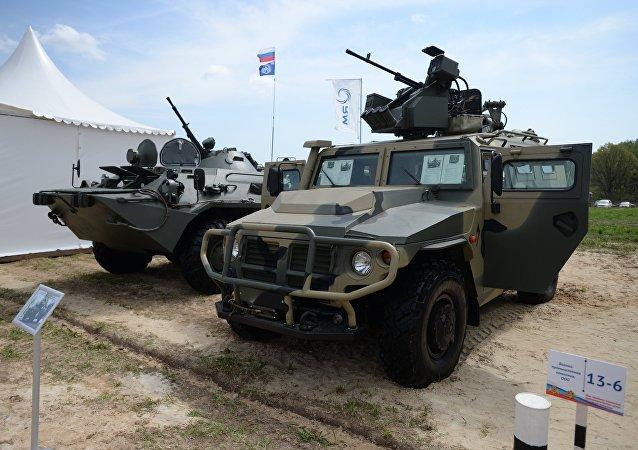 Vehículo blindado Tigr