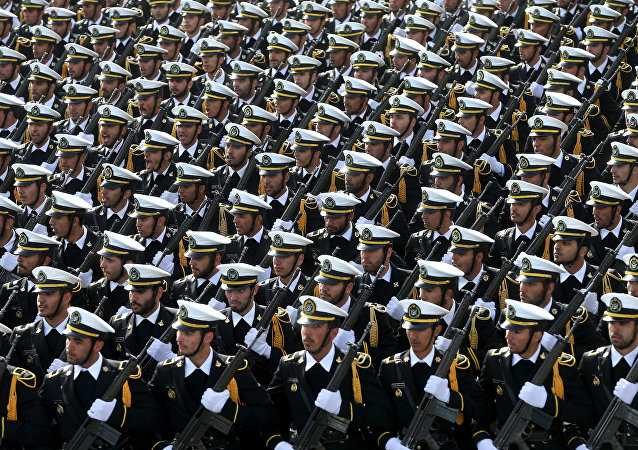 Miembros de Armada iraní (archivo)