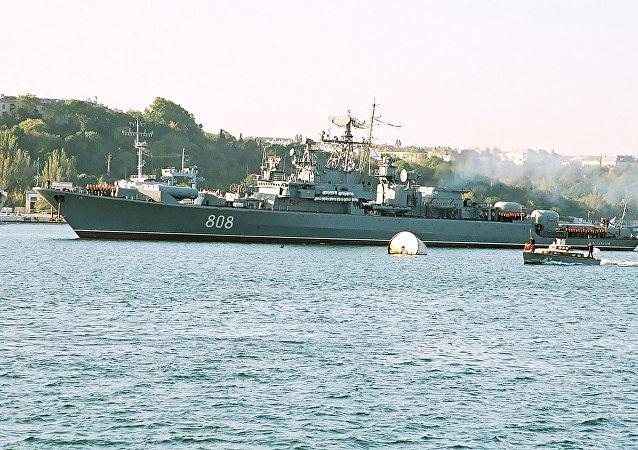 La fragata rusa Pitlivi