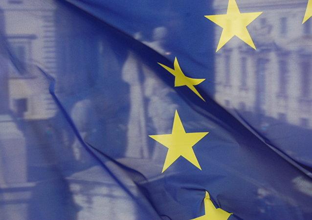 Bandera de la Unión Europea (inagen ilustrativa)