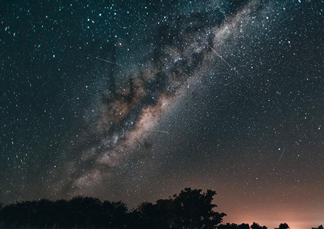 Cielo de estrellas (imagen referencial)