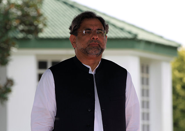 Shahid Abbasi, primer ministro de Pakistán