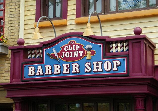 Un barbershop (imagen referencial)
