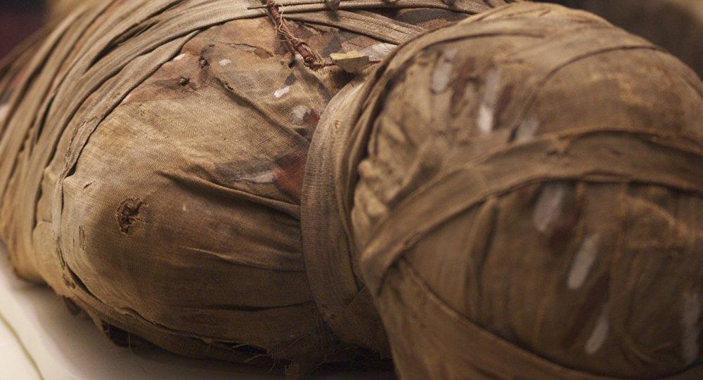 Una momia (imagen referencial)