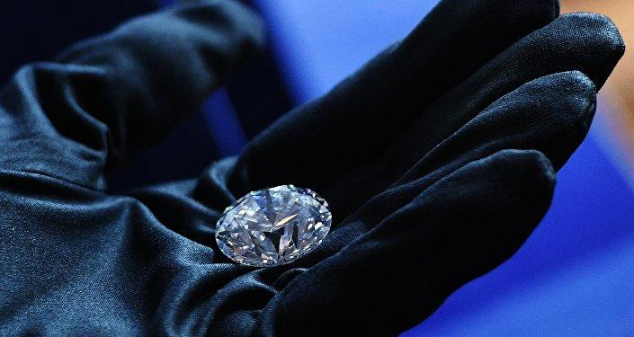 Presentación privada del brillante más caro de Rusia