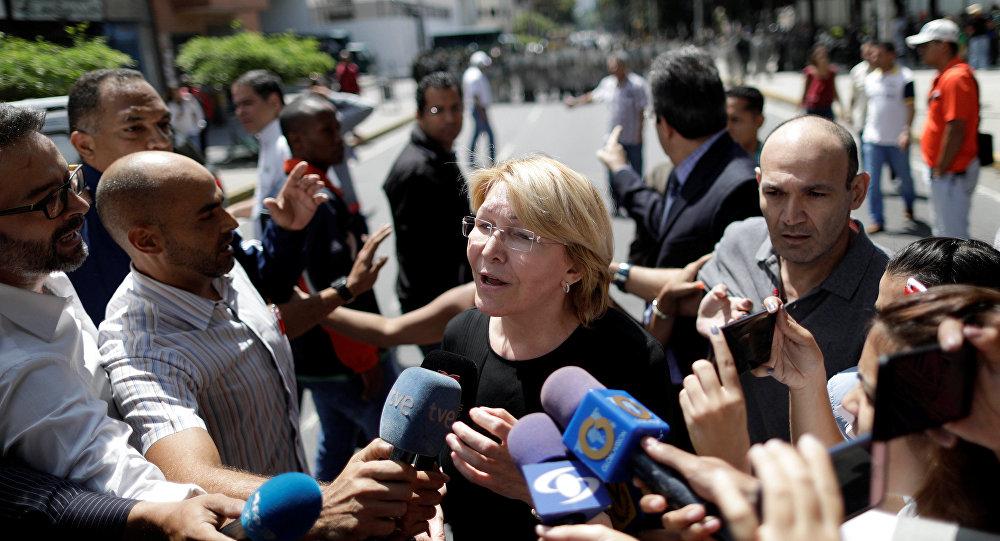 La fiscal general de Venezuela, Luisa Ortega